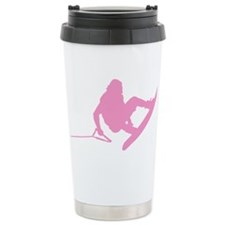 Pink Wakeboard 360 Handle Pas Travel Mug