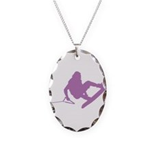 Purple Wakeboard 360 Handle P Necklace