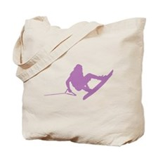 Purple Wakeboard 360 Handle P Tote Bag