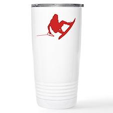 Red Wakeboard 360 Handle Pass Travel Mug