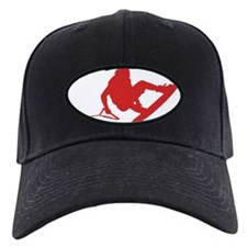 Red Wakeboard 360 Handle Pass Baseball Hat