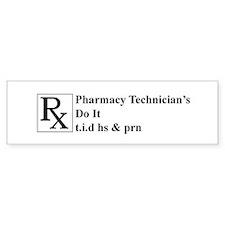 Cute Pharmacists Bumper Sticker
