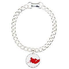 Red Indy Tantrum Bracelet