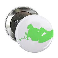 """Green Indy Tantrum 2.25"""" Button"""
