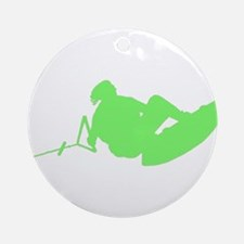 Green Indy Tantrum Ornament (Round)