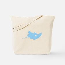 Blue Indy Tantrum Tote Bag