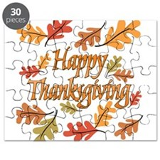 Happy Thanksgiving Puzzle
