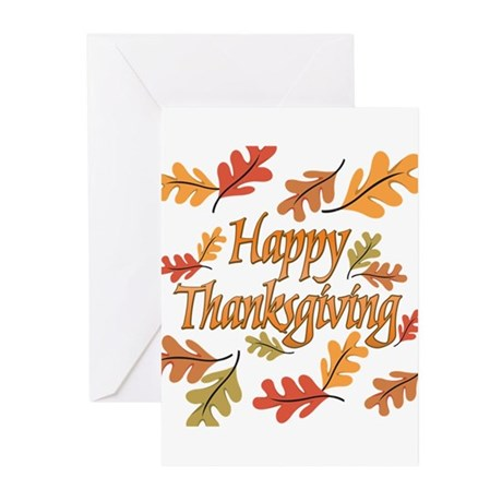 Happy Thanksgiving Greeting Cards (Pk of 20)