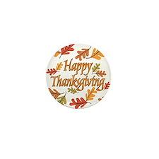 Happy Thanksgiving Mini Button