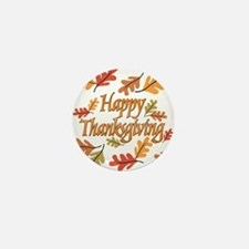Happy Thanksgiving Mini Button