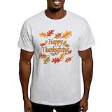 Thanksgiving Mens Light T-shirts