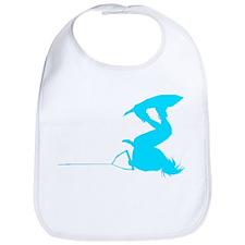 Blue Wakeboard Invert Handle Bib