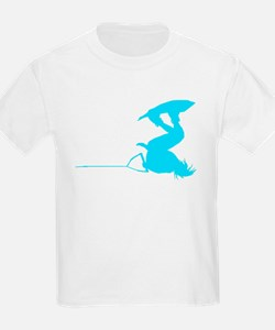 Blue Wakeboard Invert Handle T-Shirt