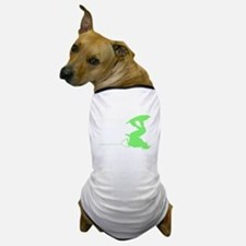 Green Wakeboard Invert Handle Dog T-Shirt