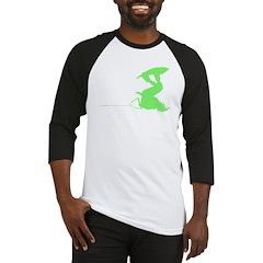 Green Wakeboard Invert Handle Baseball Jersey
