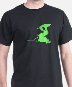 Green Wakeboard Invert Handle T-Shirt