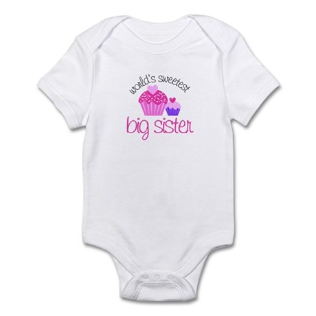 Sweetest Big Sister Infant Bodysuit