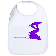 Purple Wakeboard Invert Handl Bib