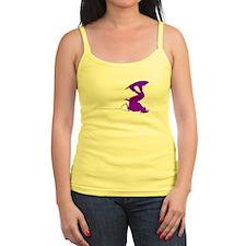 Purple Wakeboard Invert Handl Ladies Top