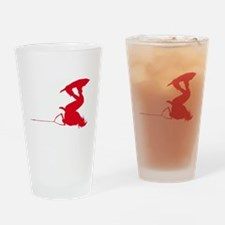 Red Wakeboard Invert Handle P Drinking Glass