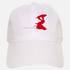 Red Wakeboard Invert Handle P Baseball Baseball Cap