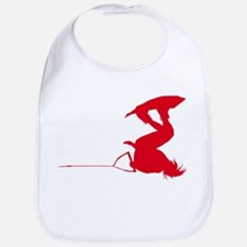Red Wakeboard Invert Handle P Bib