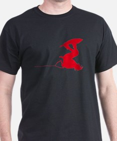 Red Wakeboard Invert Handle P T-Shirt