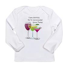 wine a little 2 Long Sleeve Infant T-Shirt