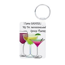 wine a little 2 Keychains