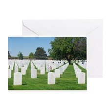 Field of Honor Greeting Card