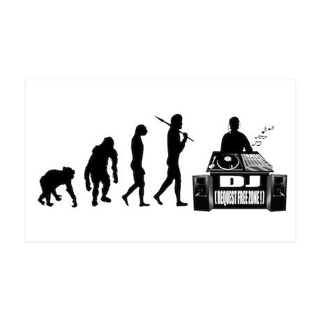 DJ Evolution 35x21 Wall Decal