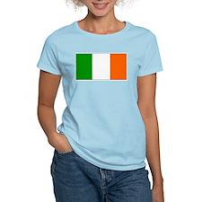 Ireland Irish Blank Flag Women's Pink T-Shirt
