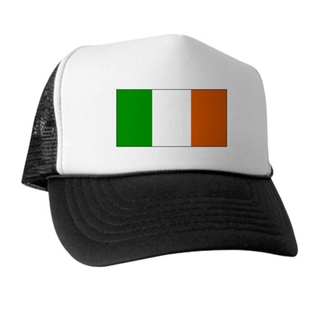 Ireland Irish Blank Flag Trucker Hat