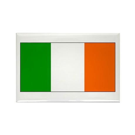 Ireland Irish Blank Flag Rectangle Magnet (10 pack