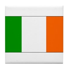 Ireland Irish Blank Flag Tile Coaster