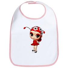 Little Miss Ladybug Bib