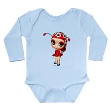 Little Miss Ladybug Long Sleeve Infant Bodysuit