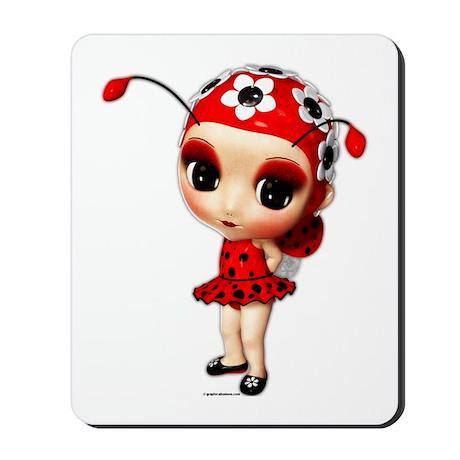 Little Miss Ladybug Mousepad