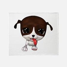 Cute Puppies: PawPaw Throw Blanket