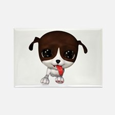 Cute Puppies: PawPaw Rectangle Magnet (10 pack)