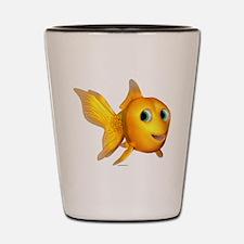 Goldie Toon Goldfish Shot Glass