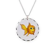 Goldie Toon Goldfish Necklace