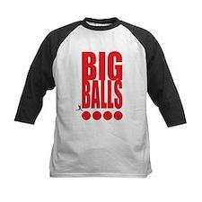 Big Red Big Balls Kids Baseball Jersey