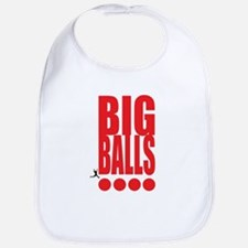 Big Red Big Balls Bib