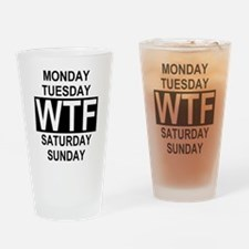Cute Marines humor Drinking Glass