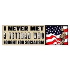"""Fight For Socialism?"" Bumper Sticker"