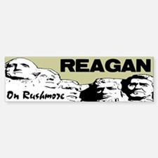 """Reagan On Rushmore"" Bumper Bumper Sticker"