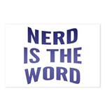Nerd Is The Word Postcards (Package of 8)