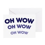 Oh Wow Greeting Cards (Pk of 10)