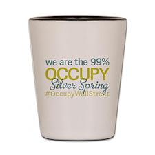Occupy Silver Spring Shot Glass